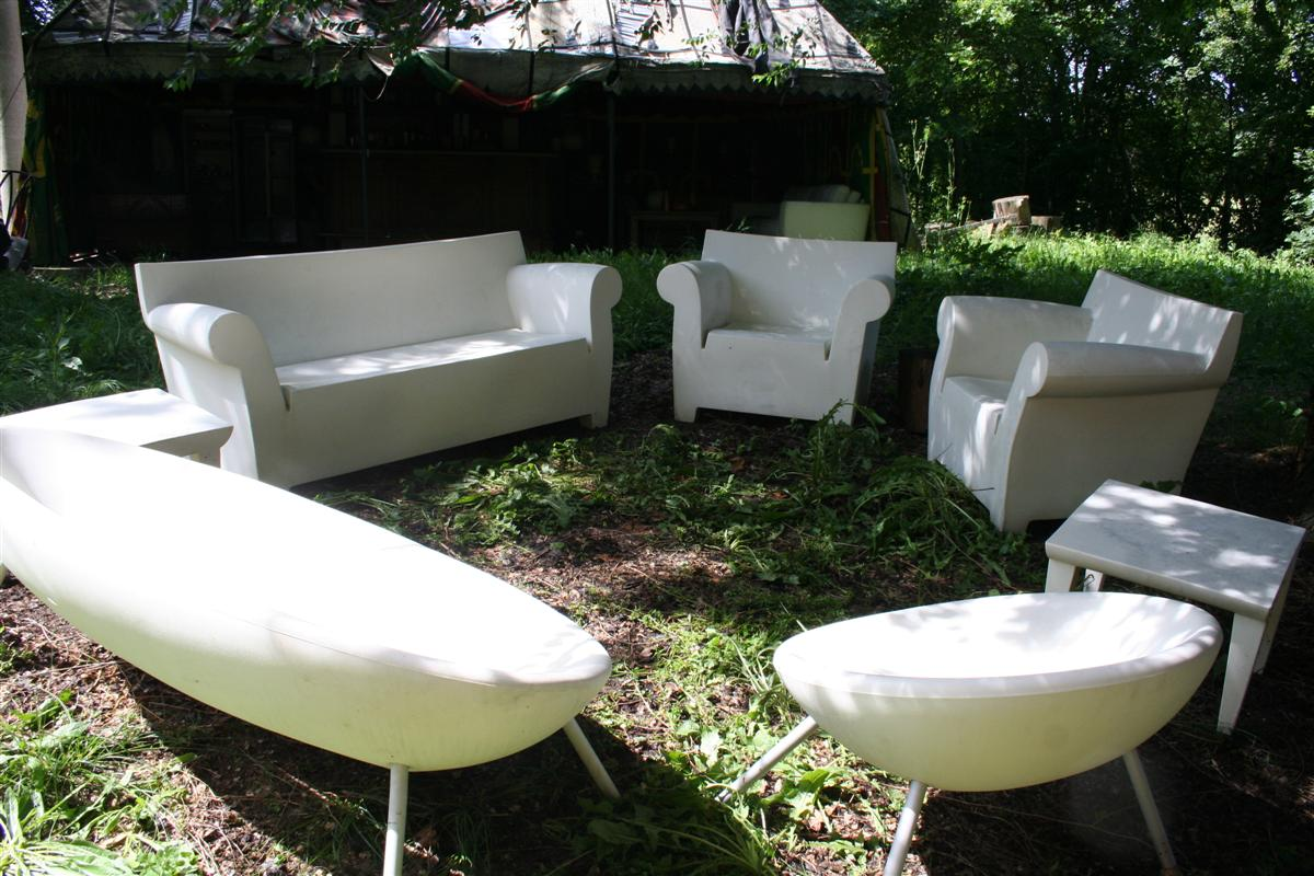kartell bubble club sofa gebraucht grey wall color arredi da giardino salotto ploof