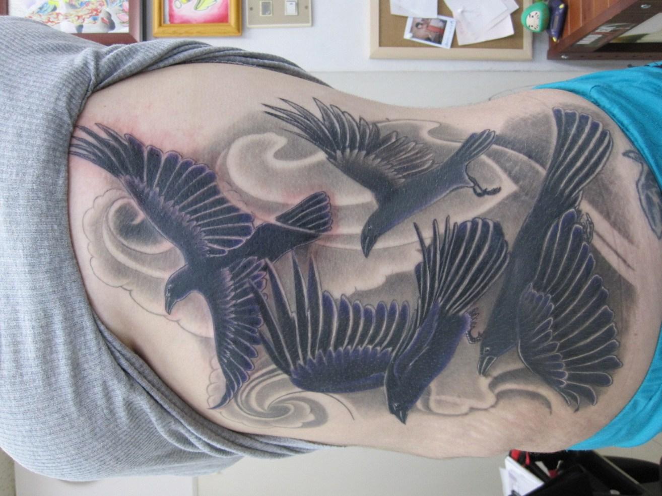 тату ворона фото значения и эскизы татуировки ворона