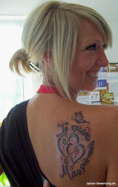 Lina_Kitty Tattoos  Liebe Schulter  Tattoos von TattooBewertungde