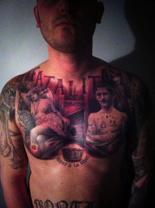 tatouage Alex D West Museum Of Madness