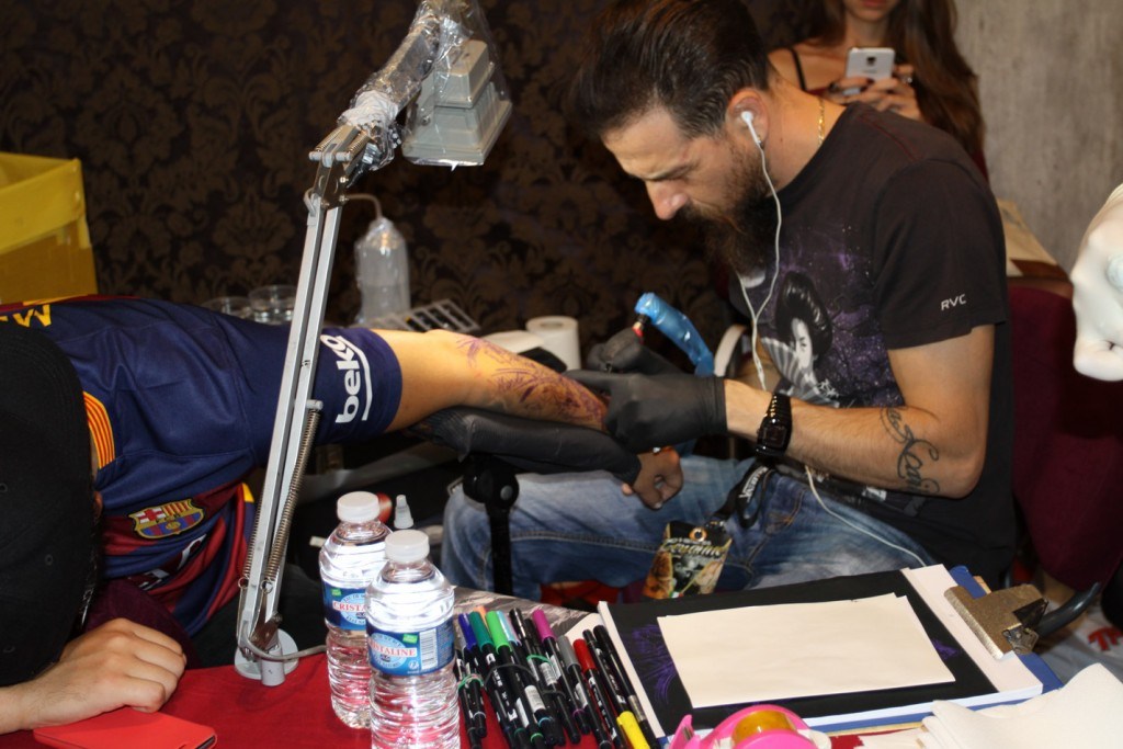 Tattoo Session :  Federico Costantini Art  (Italie)