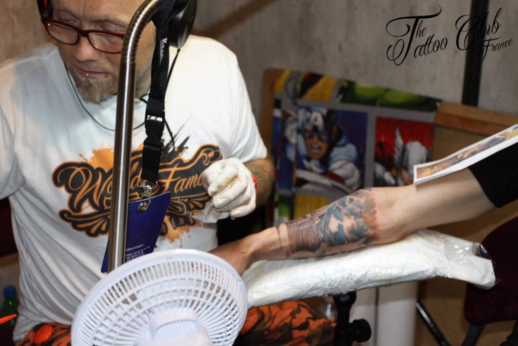 Tattoo Session : Simon COOKE  (Angleterre)