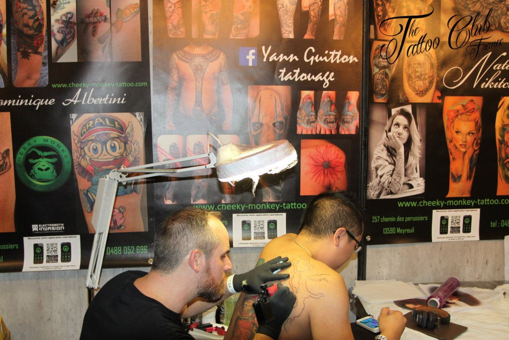 Tattoo Session : Yann Guitton (France)
