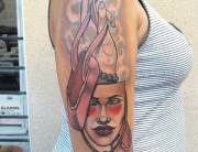 masque tattoo