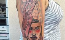 masque tattoo