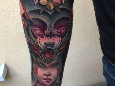 tattoo mononoke mistika