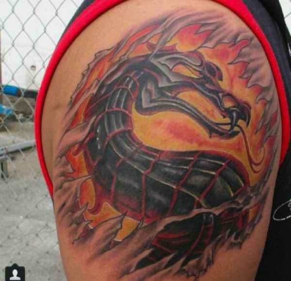 Mortal Kombat Tattoos  Tattoo Spirit