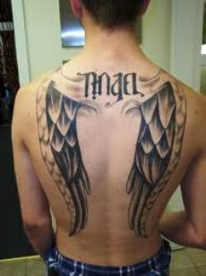 Angel And Devil Tattoo For Men