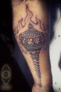 Hindu tattoo Bangalore