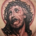 Jesus face tattoo images amp pictures becuo