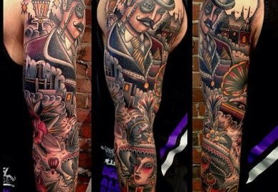 Ideas For Tattoo Sleeves For Men