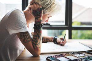 Tattoo Stencil Making