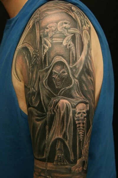 King Of Grims Tattoo