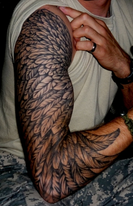 Eagle Wings Tattoos