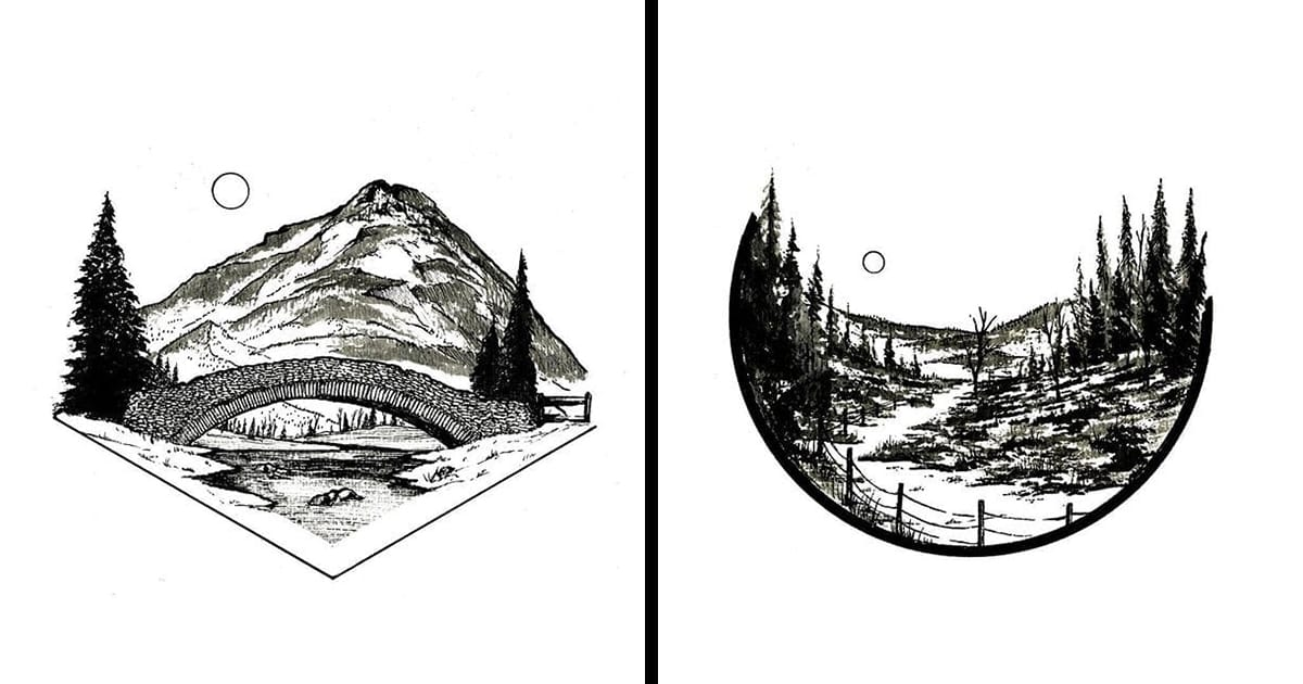 The Soothing, Serene, Small Illustrated Scenes of Derek