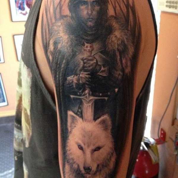 30 Epic Game Of Thrones Tattoos Tattoodo