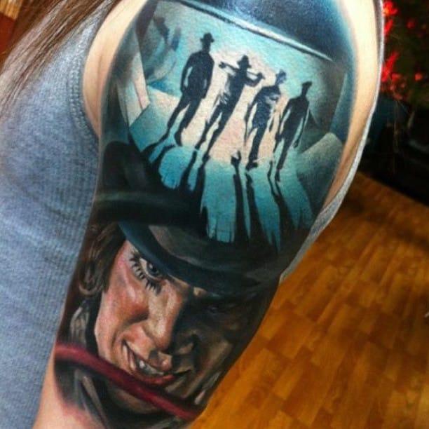 Uhrwerk Tattoo Tattoo Biomechanik Uhrwerk Arm