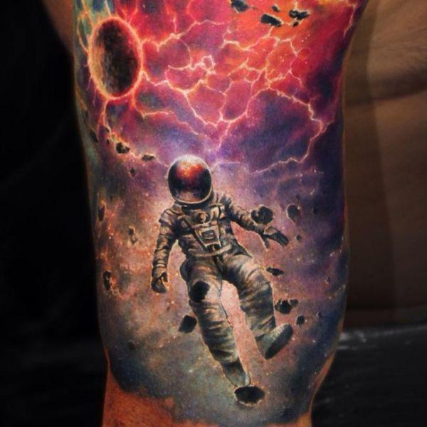 infinite galaxies space tattoos