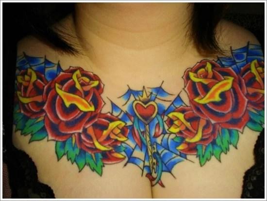 rose tattoo designs (21)