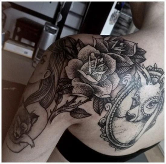rose tattoo designs (26)