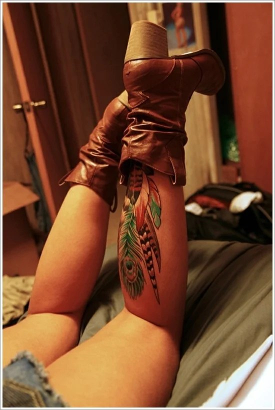 Feather Tattoo Designs (18)