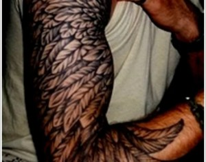 Feather And Bird Tattoo Designs