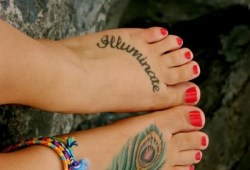 How To Take Care Of Your Foot Tattoo