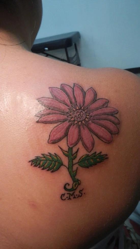daisy tattoo (17)