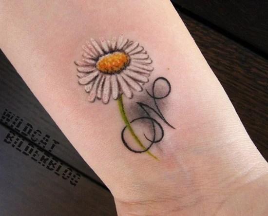 daisy tattoo (9)