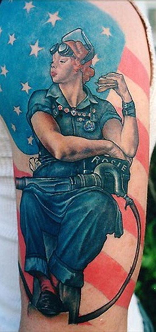 american flag tattoo (12)