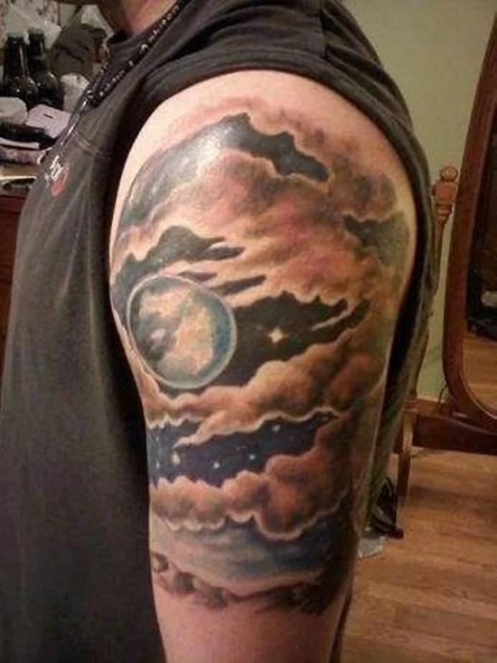 dreamy cloud tattoo art choose