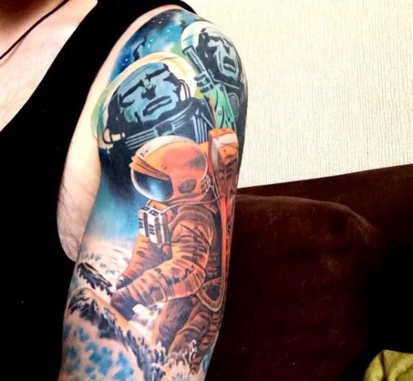 breathtaking space tattoos