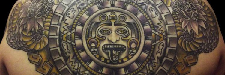 Tatuajes Mayas Y Aztecas
