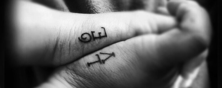 Ideas De Diseños Populares De Tatuajes Para Parejas