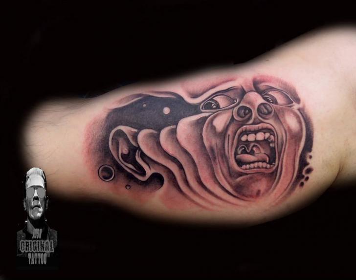 Tatuaje Brazo Fantasy Hombres Por Original Tattoo