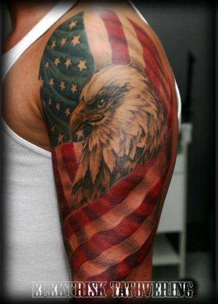 20 Usa Eagle Tattoos Forearm Ideas And Designs