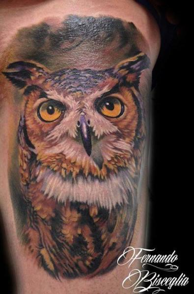 20 Arm Realistic Owl Tattoos Ideas And Designs