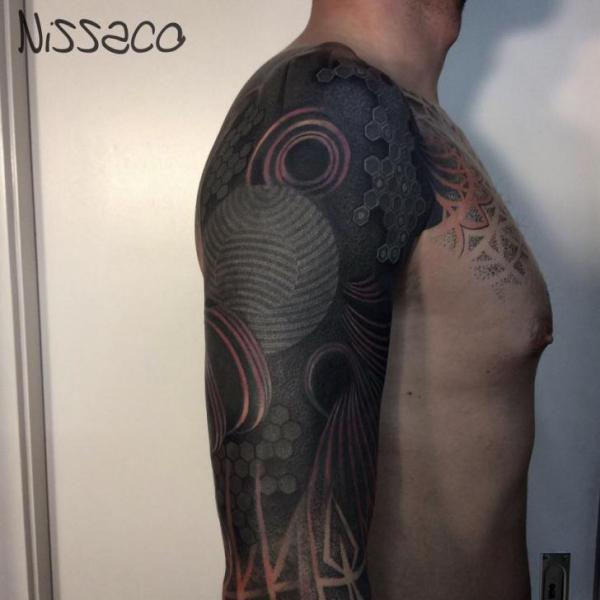 Abstract Tattoo Sleeve