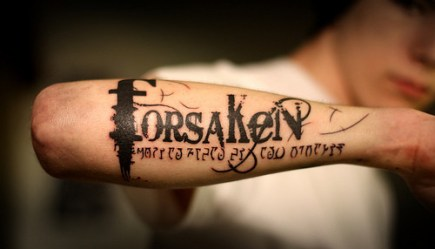 Unterarm Innen Schrift Tattoo Tattooideecom