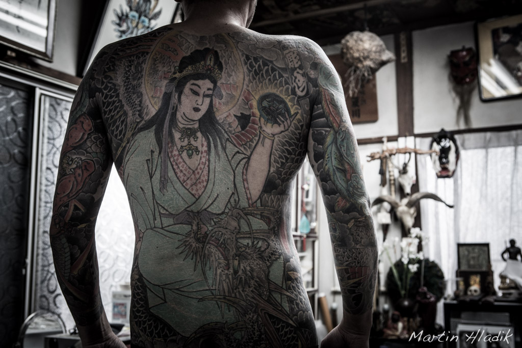 Horiyoshi III tattoo design