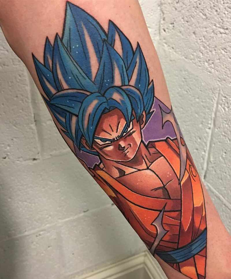 Dragon Ball Tattoo Son Goku