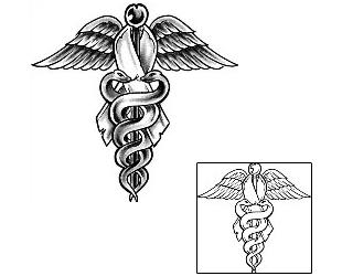 Caduceus & Medical Staff Tattoos