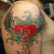 heart tattoos - tons of inspiration