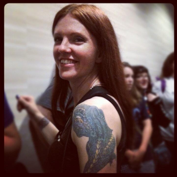 Dragon Tattoos On Arm For Girl