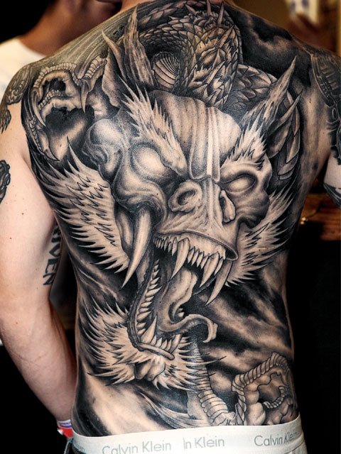 Dragon Tattoo Designs For Men Shoulder