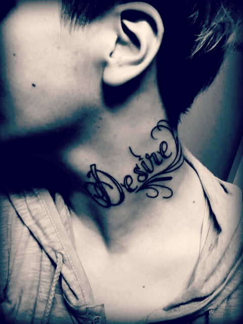 awesome neck tattoos