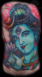 shiva tattoo design ideas