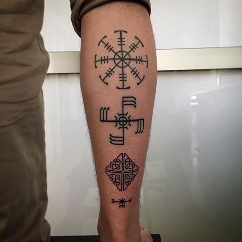 Small Viking Tattoos