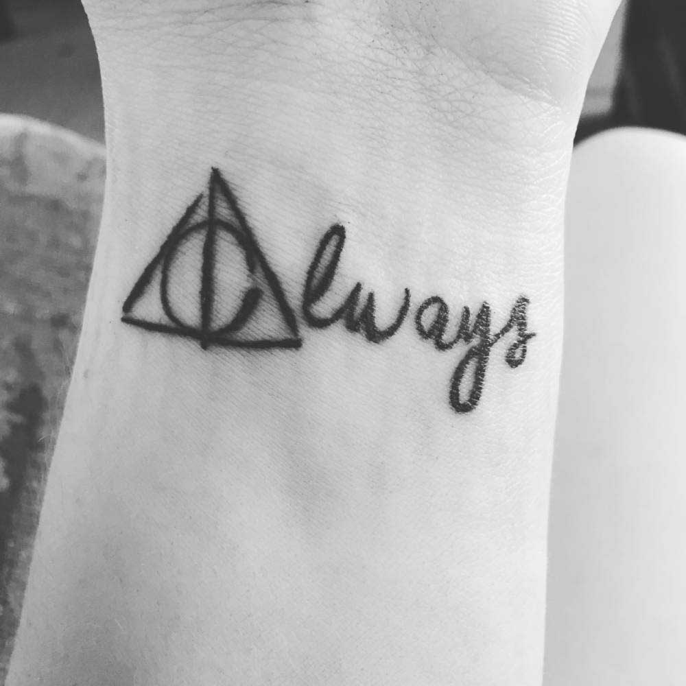 Cute Infinity Symbol Wallpaper Deathly Hallows Tattoo Explained 100 Deathly Hallows