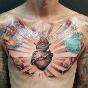 sacred heart tattoos - tattoo